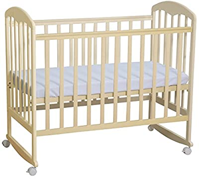 Polini niños Fácil 323 cuna de madera de abedul natural, 3023