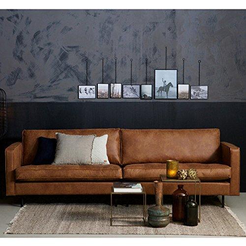 3 Sitzer Sofa RODEO CLASSIC Echtleder Leder Lounge Couch