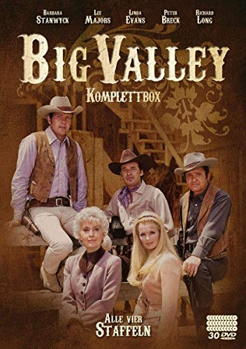 Big Valley - Komplettbox [30 DVDs] (William Powell Filme)