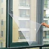 VANKER Bricolage Insecte Moustiquaire Bug Fenêtre Fil Voile Filet Toile Collant Ruban Adhésif