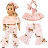 kingko Accessoires de vêtements Poupée bébé vêtements Costume Pantalon pour...