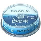 Sony - DVD-R (recordable) für DVD-Camcorder,10er Spindel
