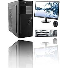 """RGDIGITAL WORK IN PROGRESS 8G COMPLETE WIN10 - PC DESKTOP INTEL QUAD CORE CASE ALANTIK RAM 8GB RAM HD 1TB HDMI DVI VGA DVD-RW 500W WIFI INCLUSO CON MONITOR 22"""" LED + TASTIERA E MOUSE COMPLETO SISTEMA OPERATIVO WINDOWS 10 PROFESSIONAL ORIGINALE CON LICENZA PC FISSO INTEL QUAD CORE 2 GHZ COMPLETO ASSEMBLATO PRONTO ALL'USO DVI/VGA/HDMI USB VELOCE COMPLETO ED ELEGANTE PER USO UFFICIO CASA AZIENDA INTERNET SOCIAL NETWORK"""