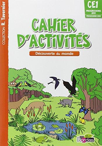 Tavernier CE1 • Cahier d'activités - Découverte du monde
