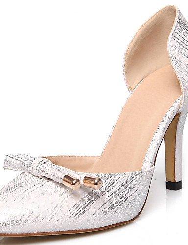 WSS 2016 Chaussures Femme-Bureau & Travail / Habillé / Soirée & Evénement-Noir / Rose / Blanc-Talon Aiguille-Talons / D'Orsay & Deux Pièces / Bout black-us5.5 / eu36 / uk3.5 / cn35