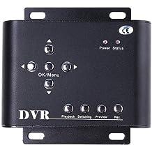 Andoer DVR 2 canali SD Card per videocamera di sicurezza