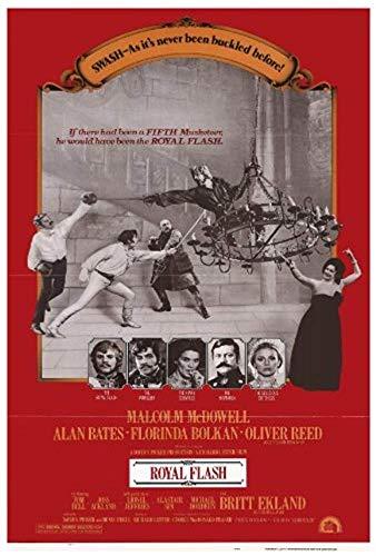 Lancaster Flash (NATHALIE LANCASTER Royal Flash - Movie Poster - 27 x 40)