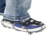 Semptec Urban Survival Technology catene da neve per scarpe: 1paio di scarpe catene per tutte le scarpe, scarpe taglia 35–43(Scarpe catene)