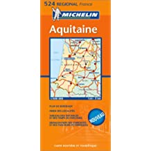 Carte routière : Aquitaine