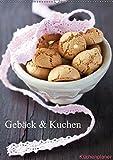 Gebäck und Kuchen Küchenplaner (Wandkalender 2019 DIN A2 hoch): Gebäck und Kuchen zum Anbeissen (Geburtstagskalender, 14 Seiten) (CALVENDO Lifestyle)