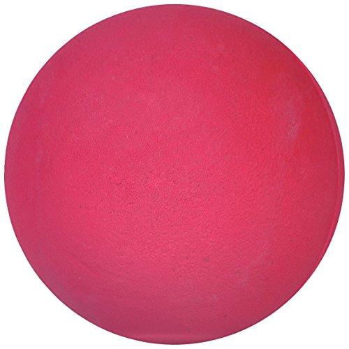 Sport-Thieme Wettkampf-Wurfball 200 g   Indoor u. Outdoor   Für Leichtathletik u. Schlagball   Griffig, Springend, Abwaschbar   Maße u. Gewicht nach DLV   Gummi   Pink   Markenqualität