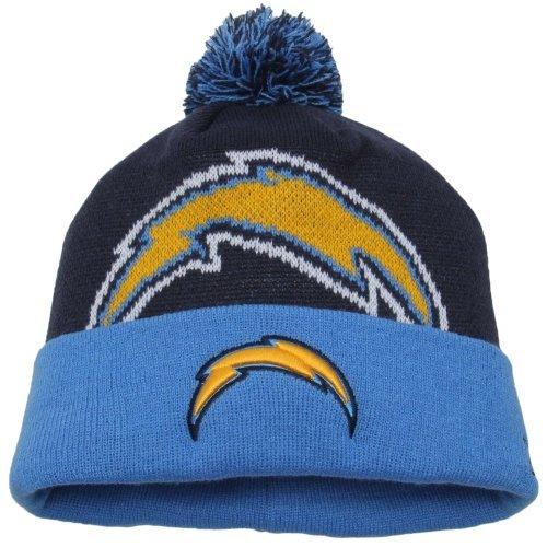san-diego-chargers-new-era-nfl-woven-biggie-2-cuffed-knit-hat-chapeau