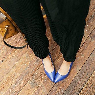Talloni delle donne del tallone Primavera Estate Altro similpelle abito a spillo Altri Nero Blu Rosso Blue