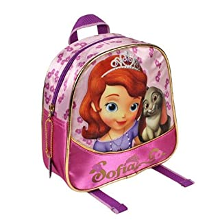 51EEYrIaO1L. SS324  - Sofia the First Mochila, 21 cm, Color rosa