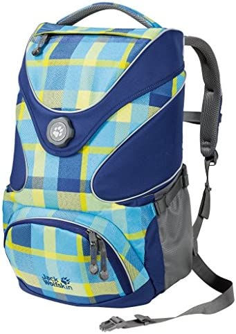 Jack Wolfskin Sac Sac Sac à Dos d'écolier Ramson Top 20 Pack, Blue Woven Check, One Size, 2005191–7952 be7c44
