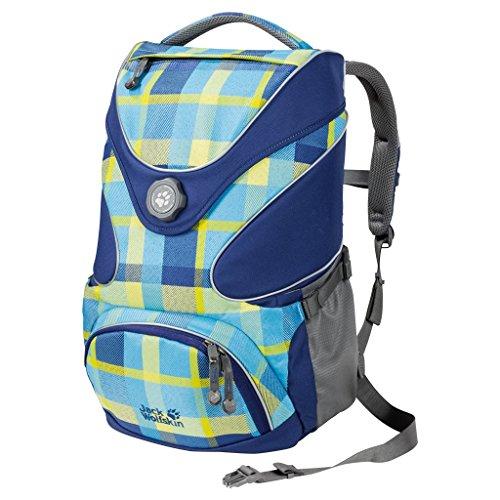 Jack Wolfskin Kids Schulrucksack Ramson Top 20 Pack 7952 blue woven check