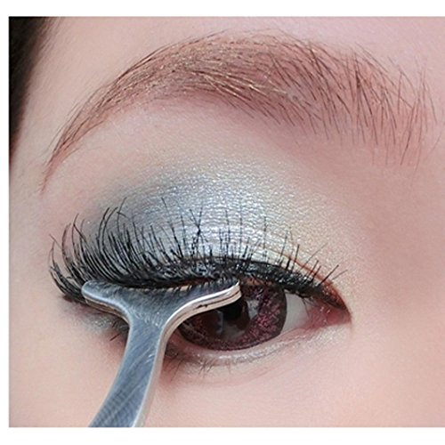 Lanspo Wimpern Aid Clamp Beauty Tools Multifunktions Falsche Wimpern Hilfsmittel Edelstahl Clip Zange