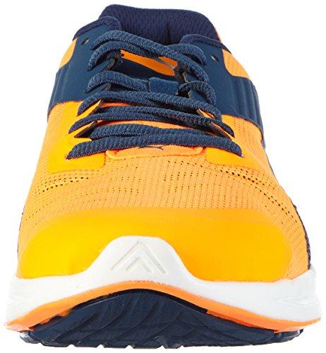 Puma IGNITE v2, Chaussures de course homme Orange (Orange Pop/Blue Wing Teal/Silver)