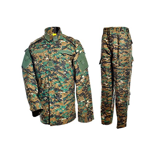 DRAGONPRO AU001 ACU Uniform Set Woodland Digital XXL -