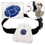 REFURBISHHOUSE2 x Brand Bark Stop Haustier Hunde Halsband Ultraschall Anti Bellen Kontroll