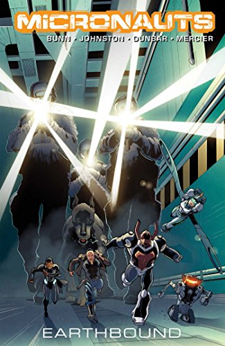 Micronauts Volume 2: Earthbound por Cullen Bunn