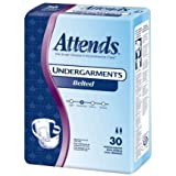 Attends 20663101 Belted Undergarment Disposable Moderate Absorbency Bu0600 Box Of 30 by Attends Healthcare Products