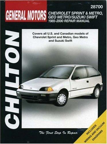 general-motors-chevrolet-sprint-and-metro-geo-metro-suzuki-swift-repair-manual-1985-2000-chilton-tot