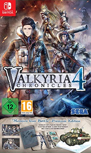 Valkyria Chronicles 4 - Memoires from Battle - Premium Edition (Switch) 30fps Pc