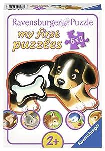 Ravensburger Puzzle 07177 - Mi primer puzzle delicias Bellas, 6 x 2 partes, colorido