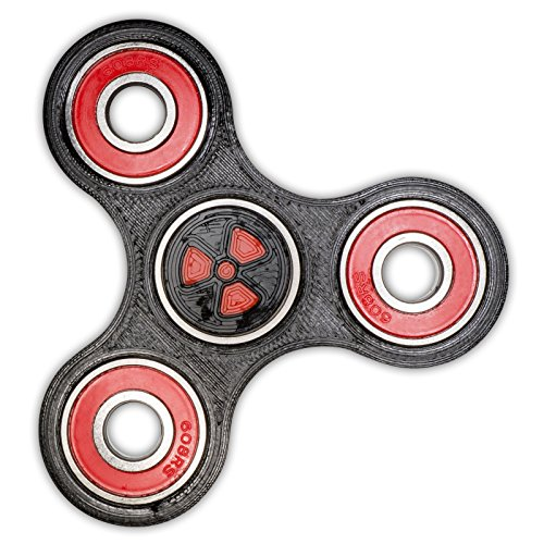 hand-spinner-fidget-radioactive-black-red-abec-9-center-bearing-3d-printed-gadget
