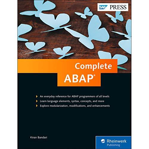 Complete ABAP (SAP PRESS: englisch)