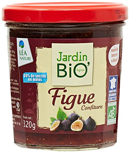 Jardin Bio Confiture Extra Figue Violette 320 g - Lot de 3