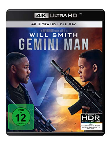 Gemini Man (4K Ultra HD) (+ Blu-ray 2D)