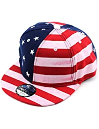 Efashionsquare USA Flagge Snapback Cap