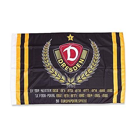 SG Dynamo Dresden Fahne Erfolge 80 x 120 cm