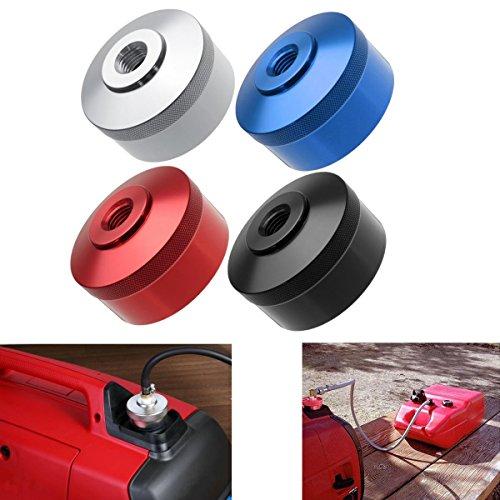 Preisvergleich Produktbild JenNiFer Aluminium Verlängerter Laufender Gaskappen-Adapter Für Honda-Generator Eu2000I Eu20I Eu1000I - Silber