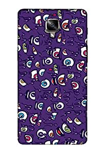 OnePlus 3T Mobile Back Cover For OnePlus 3T; It Is Matte glossy Thin Hard Cover Of Good Quality (3D Printed Designer Mobile Cover) By Clarks