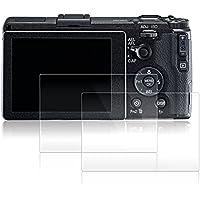 Films de Protection d'Ecran pour Ricoh GR II, AFUNTA Lot de 2 Protecteurs Imperméables en Verre Trempé Optique pour Caméra Digital DSLR