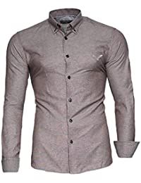 9fec528e91 Kayhan Hombre Camisa Manga Larga Slim Fit S - 6XL Modello - Oxford