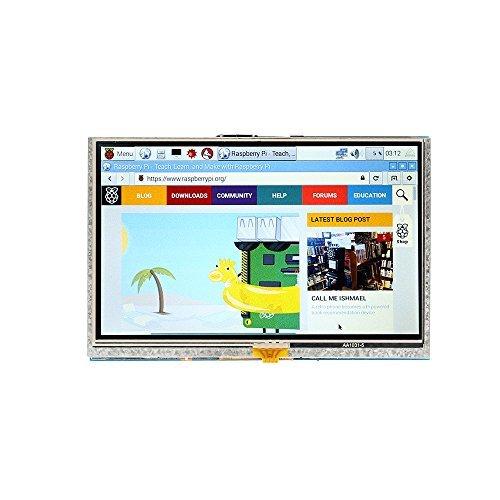 SainSmart 5 inch 800x 480 Touch Screen TFT LCD Display Module Resistive Panel HDMI Interface für Raspberry Pi 3 Pi 2 Model A/ A+ B/ B+ Lcd-display-modul