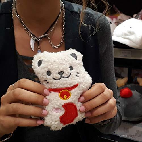 Mini bouillotte chat porte-bonheur - Cadeau Maestro
