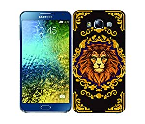 Galaxy Printed 2398 Modern Baroque Animals Lion Hard Cover for Samsung CORE PLUS