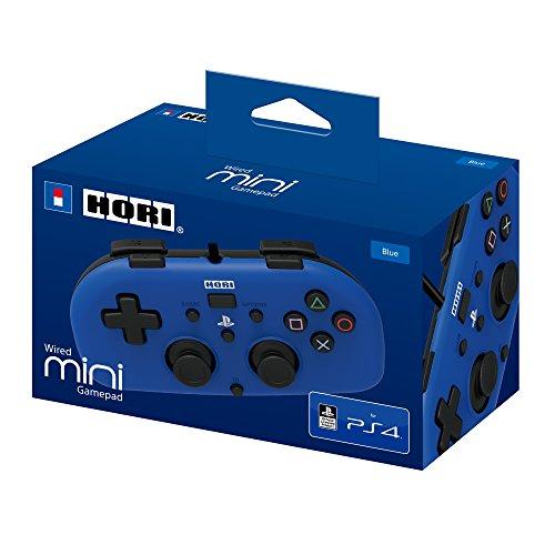 Manette filaire Mini pour PS4 – bleu