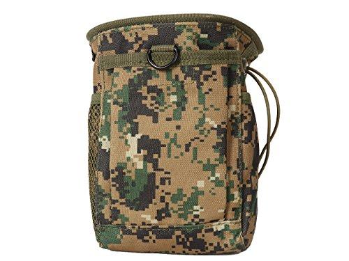 Générique Tactical Dump Drop Tour de Taille Sac Molle Magazine Camera Pouch Airsoft Militaire DWC