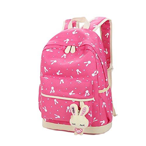 Imagen de  escolares  niños niñas adolescentes  escolar + bolsa de hombro + billetera + bolso de pluma rosado  alternativa