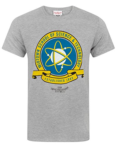Spider-Man Homecoming Midtown School Men's T-Shirt (S)