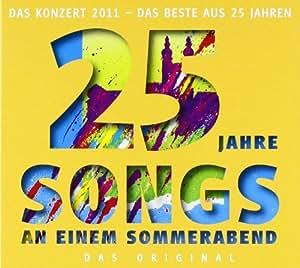 25 Jahre Songs an einem Sommerabend