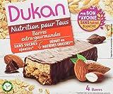 Dukan Barres de Son d'Avoine Extra-Gourmand 120 g - Lot de 6