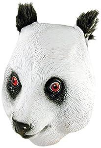 Bristol Novelty BM302 Máscara cubrecabeza de Panda (Talla única)