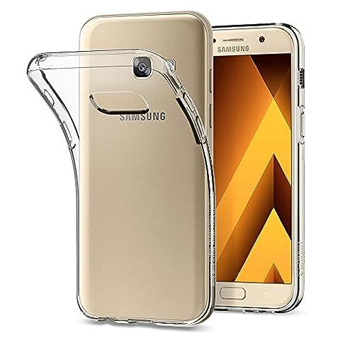 Coque Samsung Galaxy A3 2017, Spigen® [Liquid Crystal] Ultra Mince